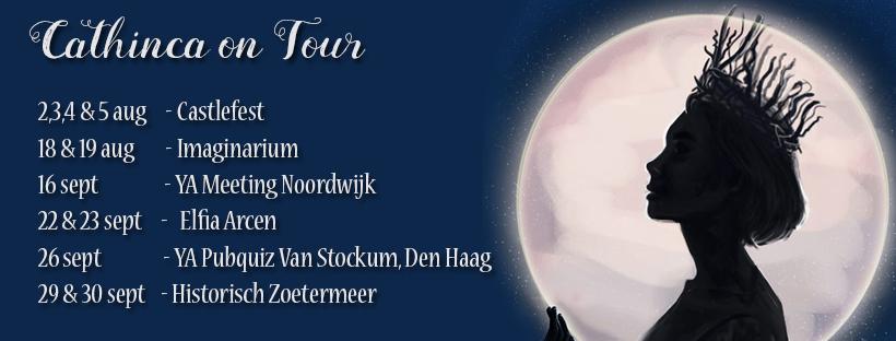 Cathinca on tour de vrouwe van myrdin dutch venture publishing