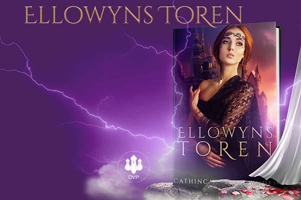 plaatje van de cover van Ellowyns toren waarbij een meisje in de verte staat